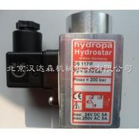Hydropa 压力开关 KA 20参数介绍