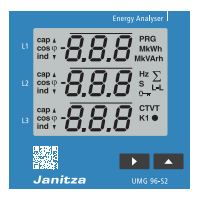 janitza捷尼查UMG 96-S2能量分析仪