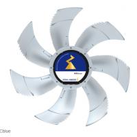 Ziehl Abegg模拟低噪音Fe2Owlet风扇叶加热技术